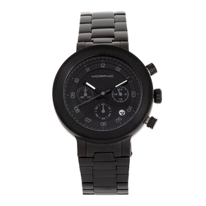 Morphic M78 Series Chronograph Bracelet Watch - Black/Black - MPH7807