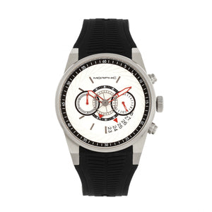 Morphic M72 Series Strap Watch - Black/Silver  - MPH7201