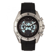 Load image into Gallery viewer, Morphic M66 Series Skeleton Dial Leather-Band Watch w/ Day/Date - Silver/Black - MPH6601
