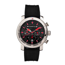 Load image into Gallery viewer, Morphic M90 Series Chronograph Watch w/Date - Black/Red - MPH9001