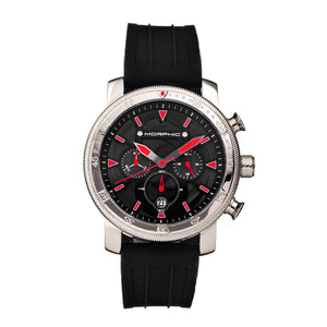 Morphic M90 Series Chronograph Watch w/Date - Black/Red - MPH9001