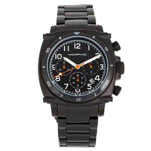 Morphic M83 Series Chronograph Bracelet Watch w/ Date - Black - MPH8303