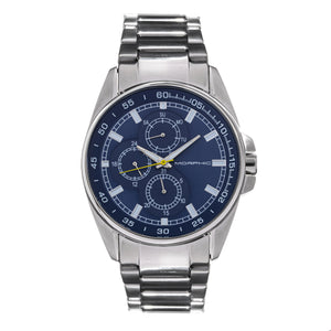 Morphic M92 Series Bracelet Watch w/Day/Date - Blue - MPH9203