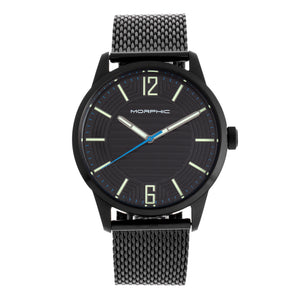 Morphic M77 Series Bracelet Watch - Black - MPH7702