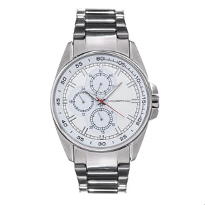 Morphic M92 Series Bracelet Watch w/Day/Date - Silver - MPH9204