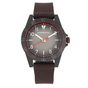 Morphic M84 Series Strap Watch - Dark Brown - MPH8404