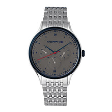 Load image into Gallery viewer, Morphic M65 Series Bracelet Watch w/Day/Date - Silver/Grey - MPH6501