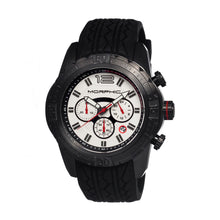 Load image into Gallery viewer, Morphic M27 Series Chronograph Men's Watch w/ Date - Black/White - MPH2704