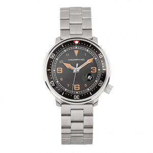 Morphic M74 Series Bracelet Watch w/Magnified Date Display