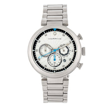 Load image into Gallery viewer, Morphic M87 Series Chronograph Bracelet Watch w/Date - Silver/White - MPH8701
