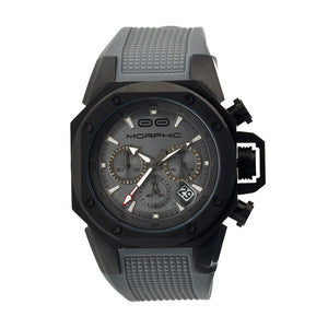 Morphic M35 Series Chronograph Men's Watch w/ Date - Black/Grey - MPH3506