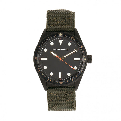 Morphic M69 Series Canvas-Band Watch - MPH6906