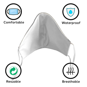 Waterproof, Reusable Face Covering