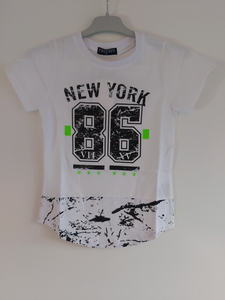 T-shirt New York wit