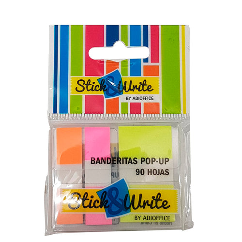 banderitas pop up