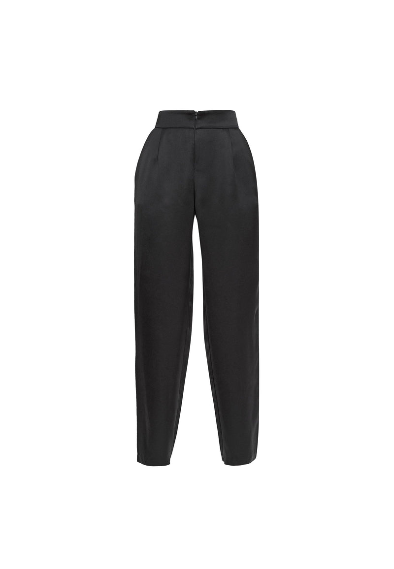 Viscose Straight Leg Trousers - NARRO