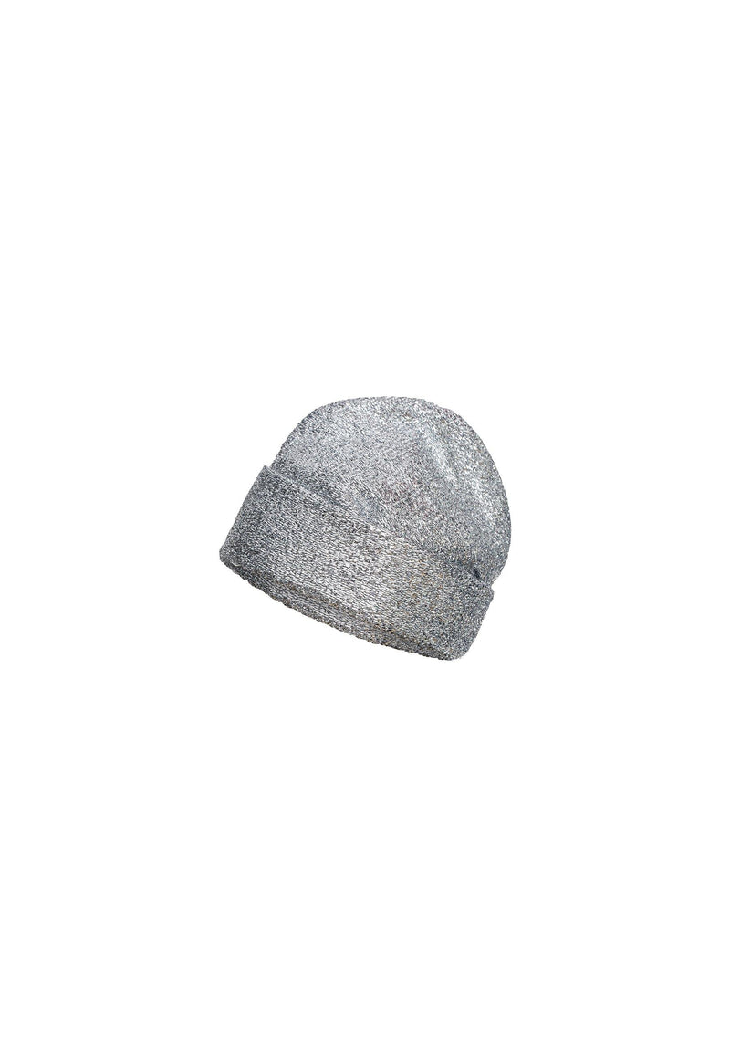 Sparkly Lurex Silver Hat - NARRO