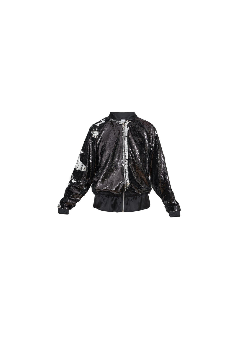 Sequin Bomber Jacket - NARRO