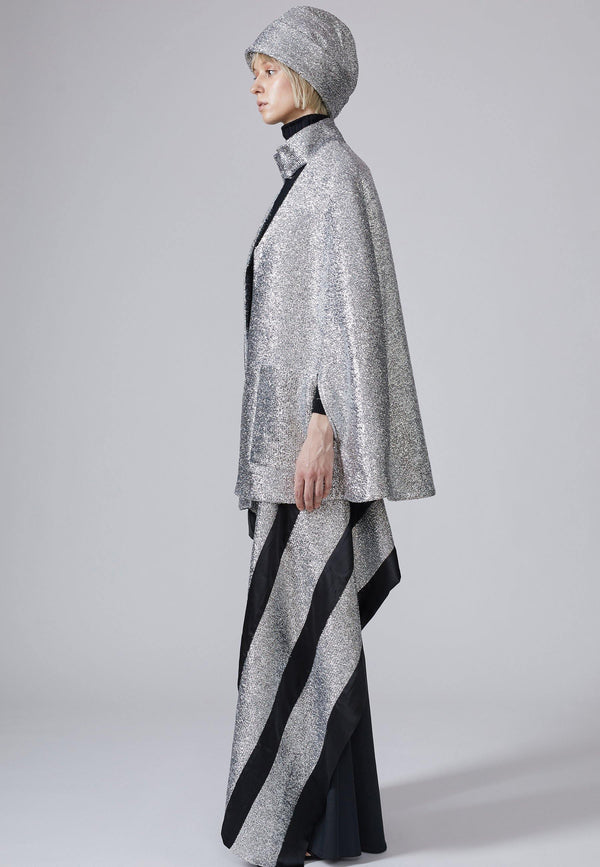 Sparkly Lurex Cape