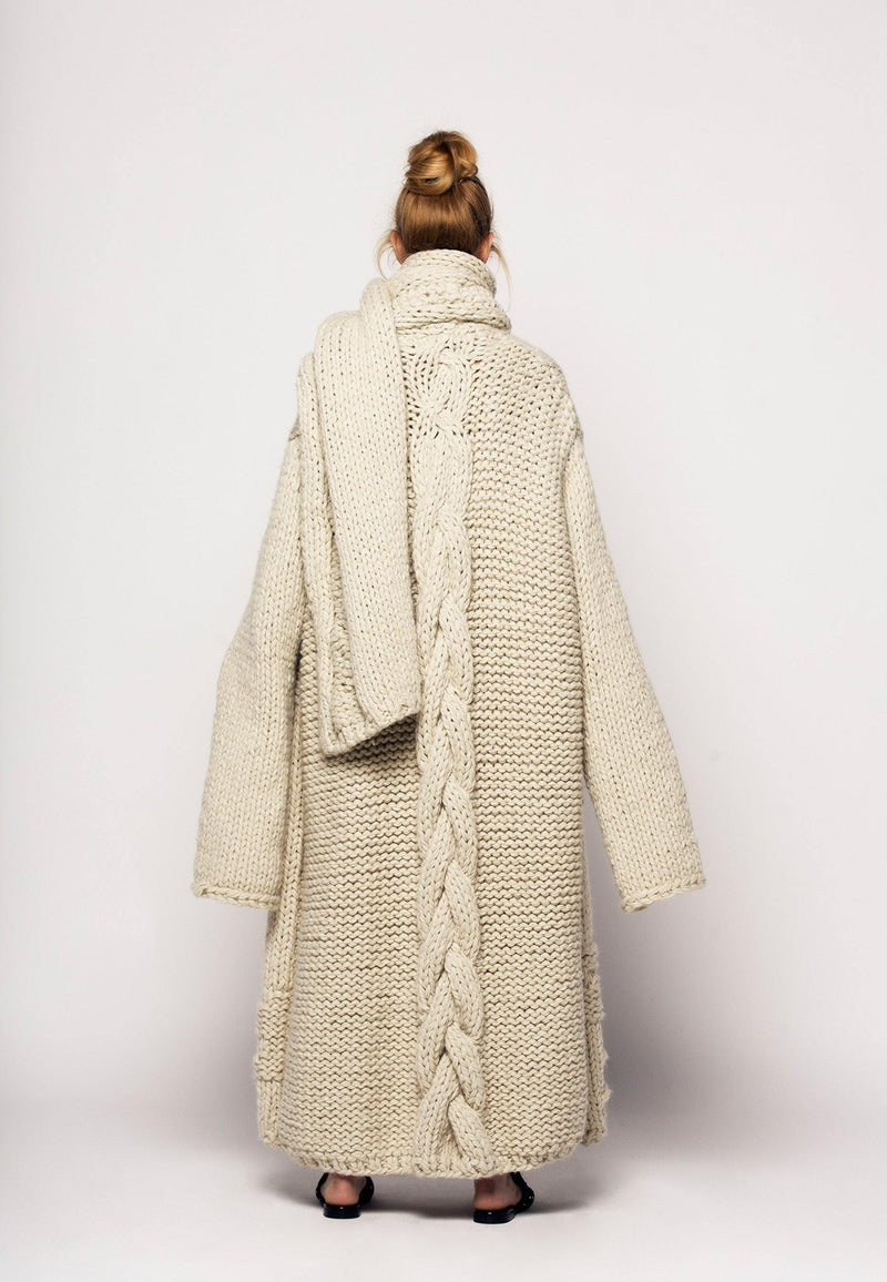 Long Wool Scarf - NARRO