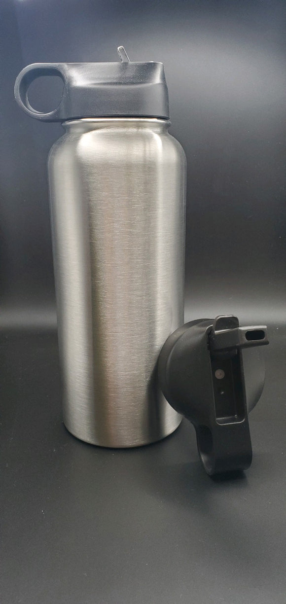 32oz Stainless Steel Sports Bottle