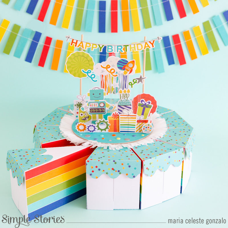 Happy Birthday Surprise Cake! by Maria Celeste Gonzalo