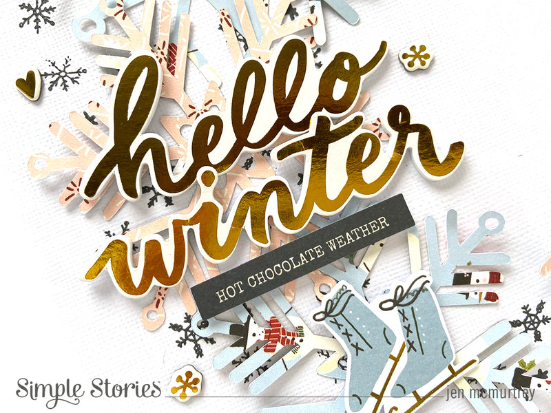 Hello Winter! by Jen McMurtrey