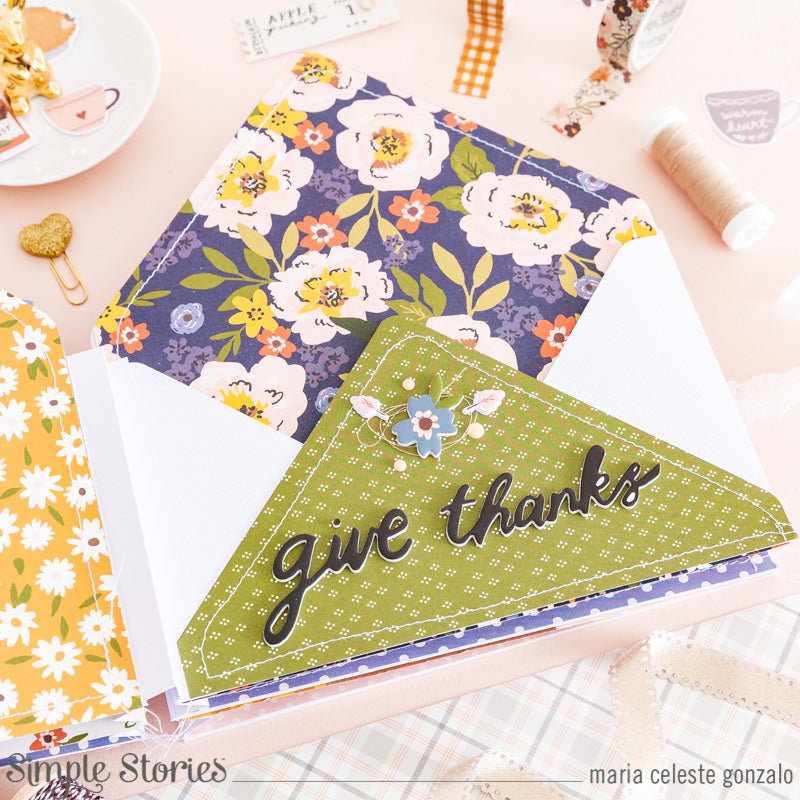 Envelope Mini Album! by Maria Celeste Gonzalo