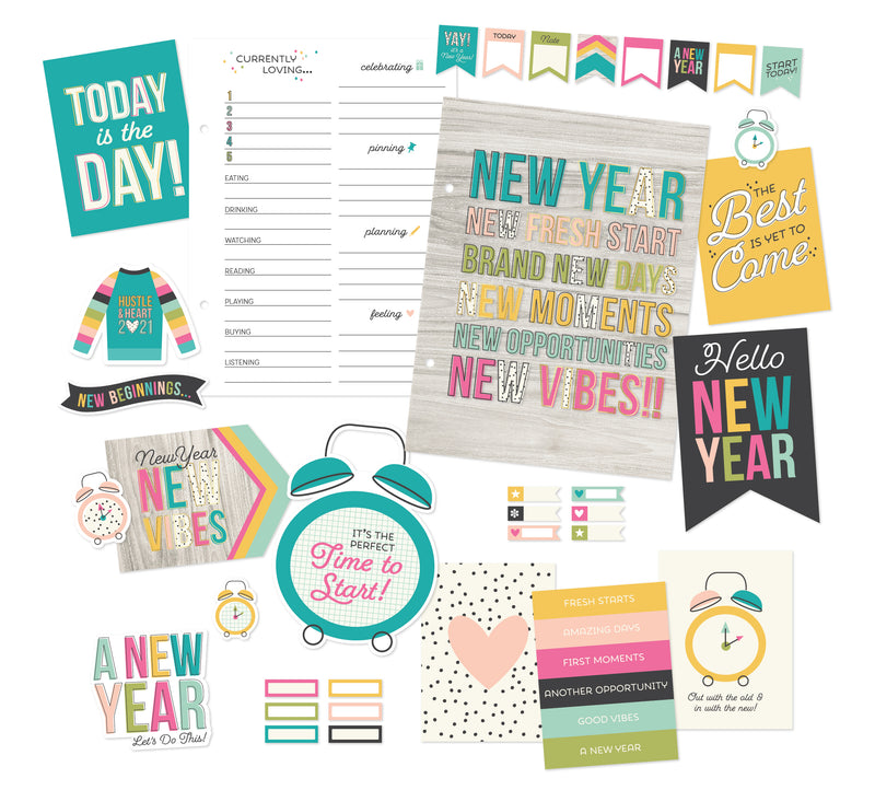 Printables - Snap 6X8 - January