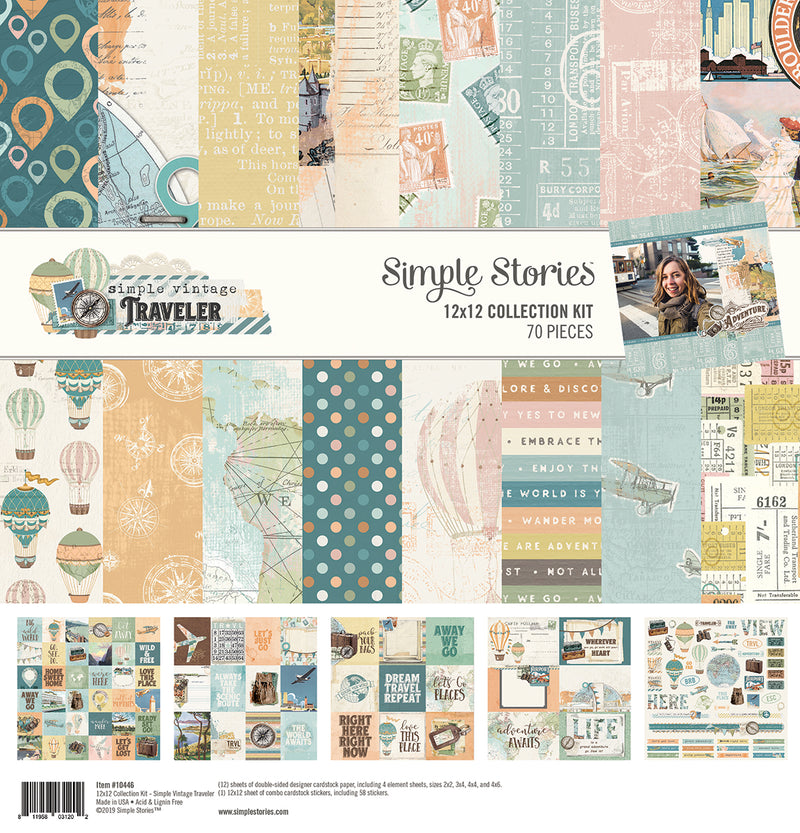 Simple Vintage Traveler Simple Basics Kit