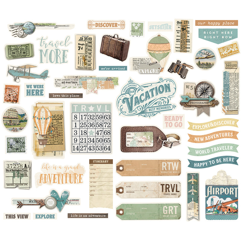 Simple Vintage Traveler Bits & Pieces