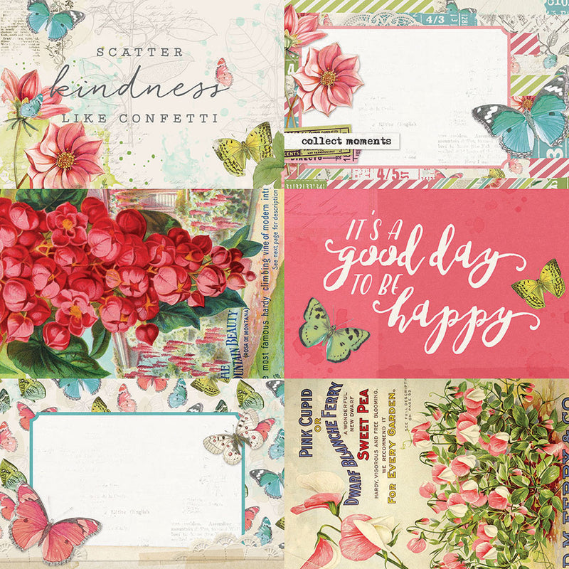 Simple Vintage Botanicals 4x6 Elements