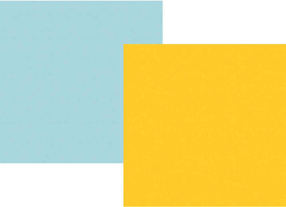 Say Cheese 4 12x12 Paper - Yellow/Light Blue