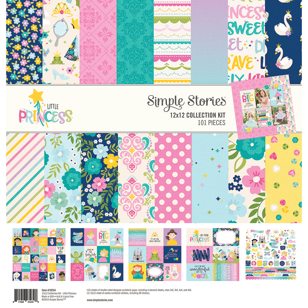 Little Princess 12x12 Collection Kit
