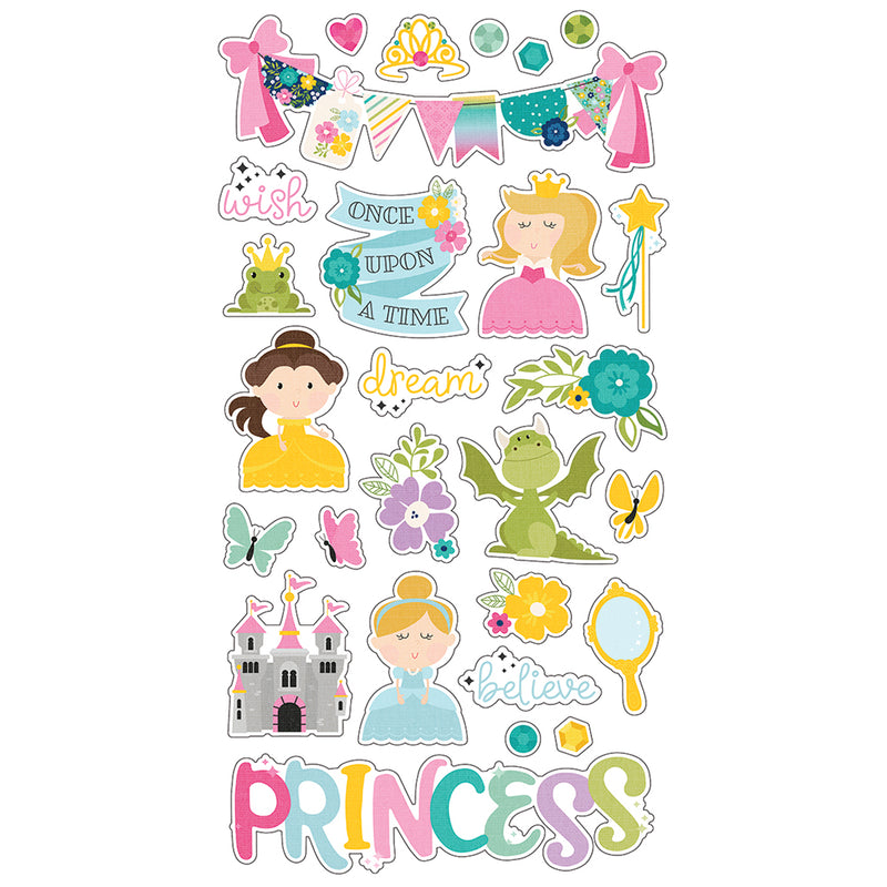 Little Princess 6x12 Chipboard