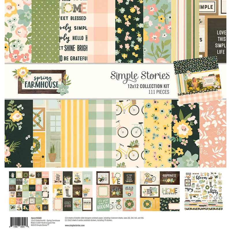 Spring Farmhouse Enamel Dots