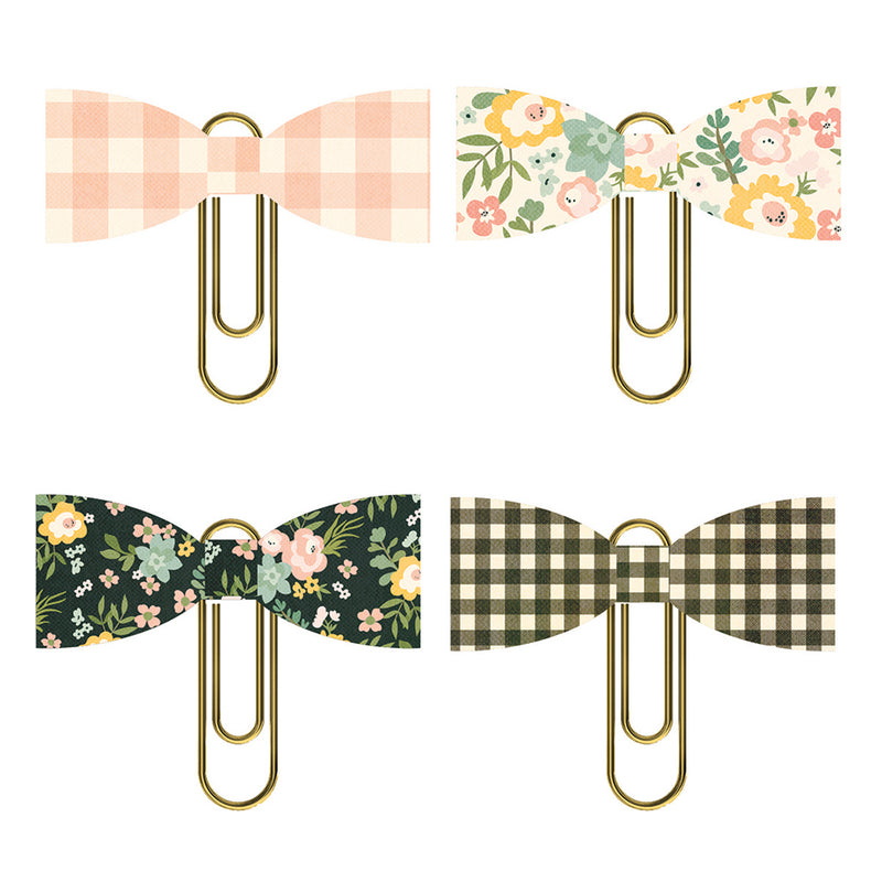 Spring Farmhouse Bow Clips