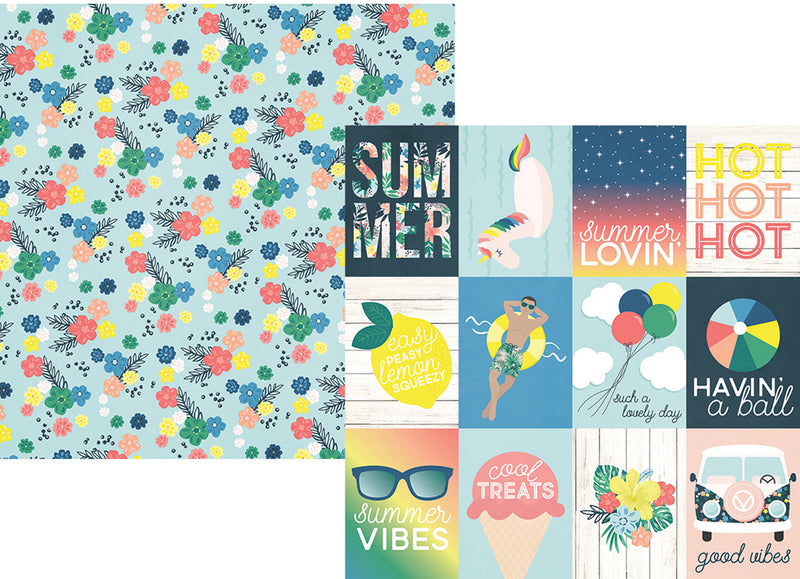 Sunshine & Blue Skies 12x12 Collection Kit