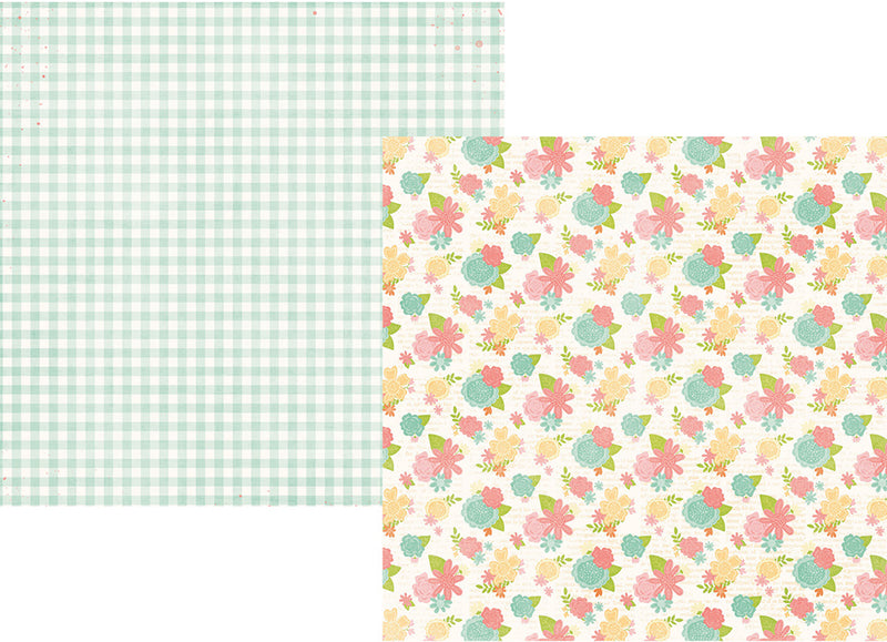 Bunnies & Baskets 12x12 Simple Set