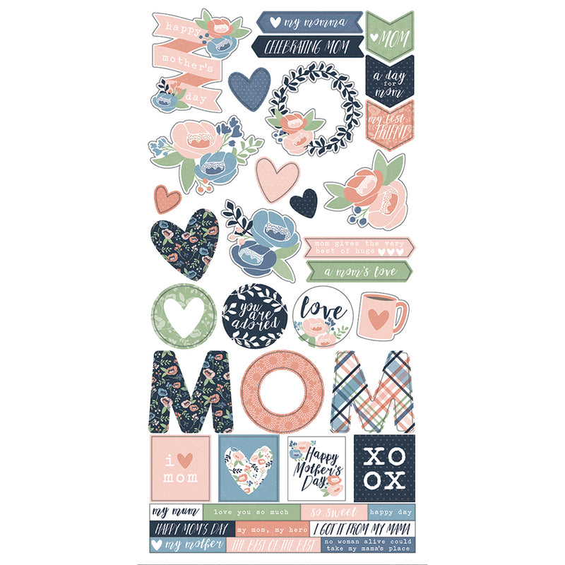 Mom's Day 12x12 Collection Kit