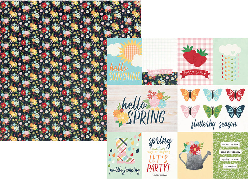 Springtime 12x12 Simple Set