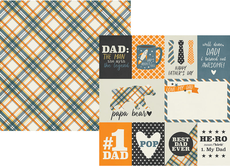 Dad Life 12x12 Collection Kit