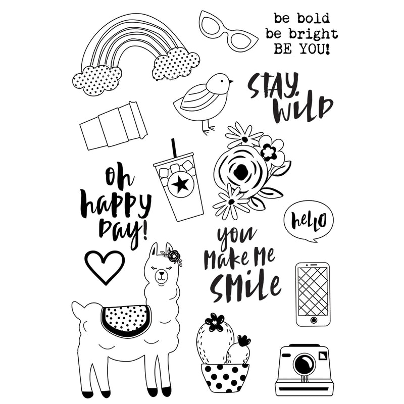 Oh Happy Day 4x6 Stamps - Be You!