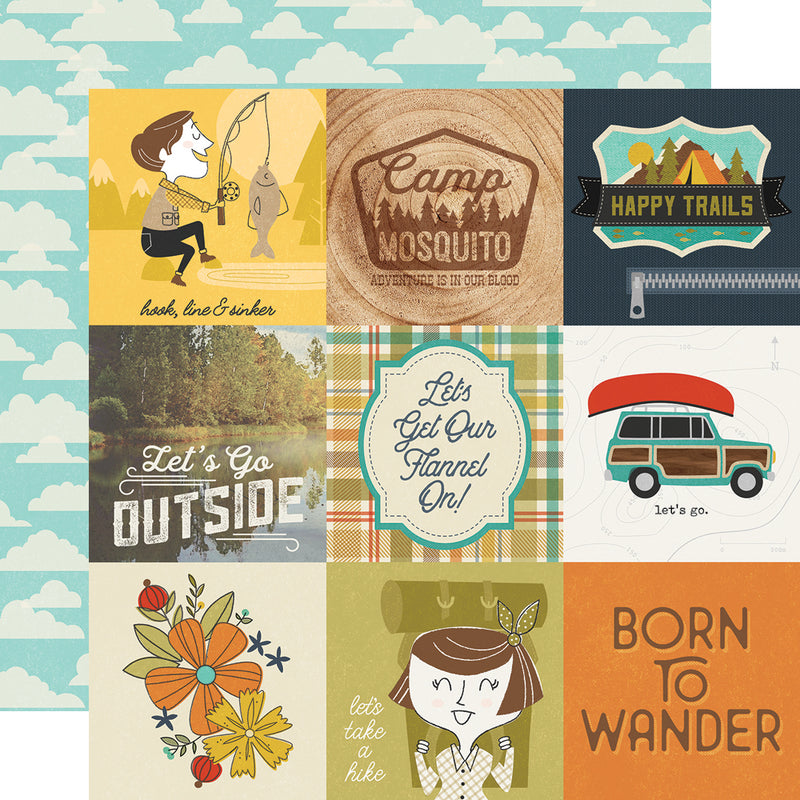 Happy Trails 12x12 Collection Kit