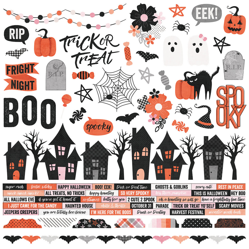 Happy Haunting 12x12 Collection Kit