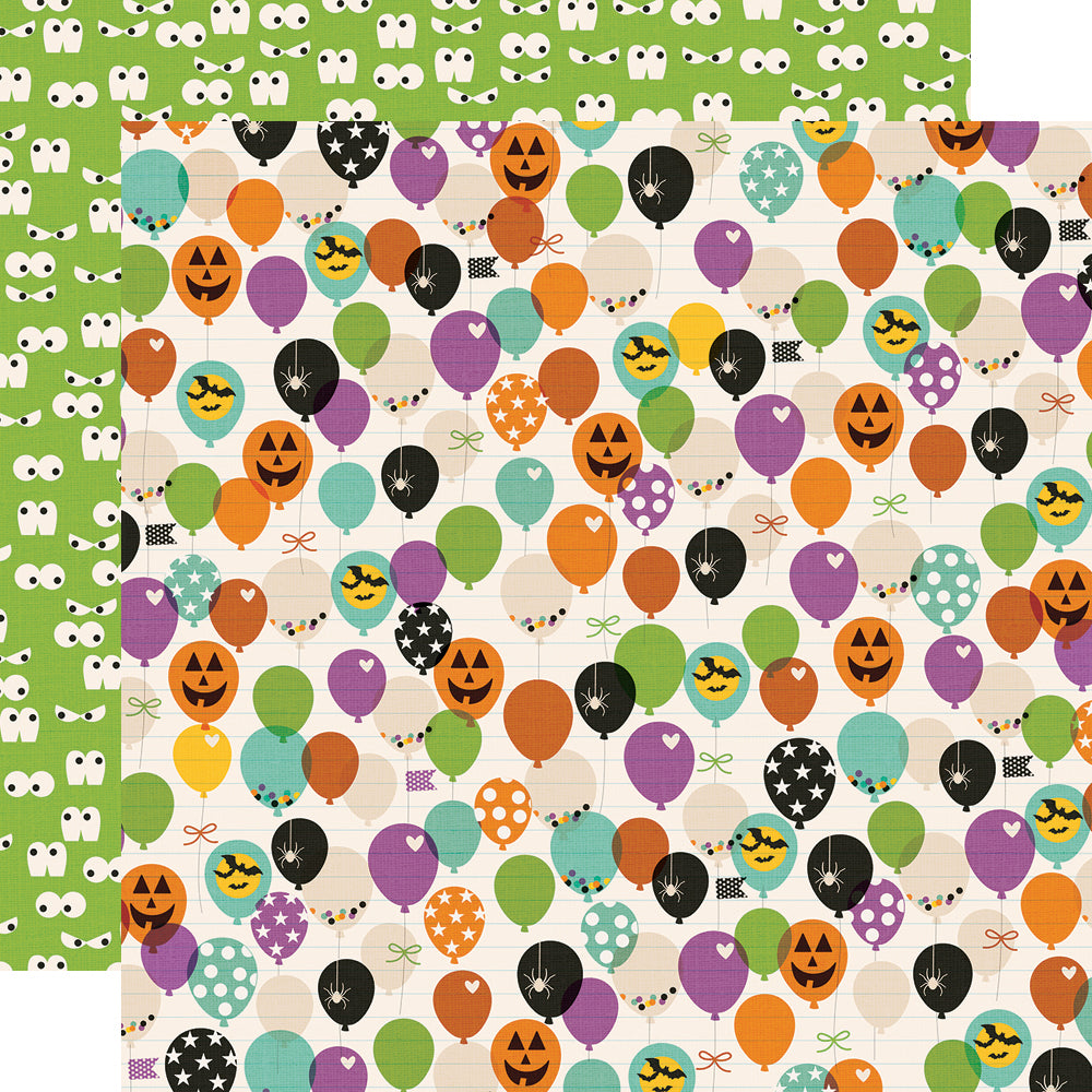 Say Cheese Halloween 12x12 Paper - FaBOOlous!