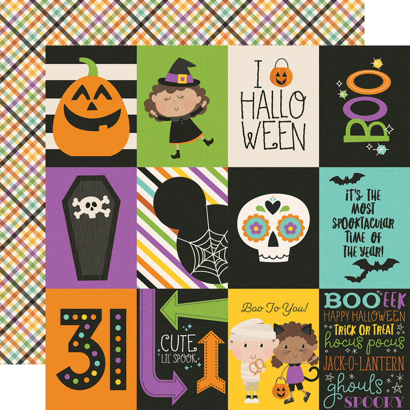 Say Cheese Halloween 3x4 Elements