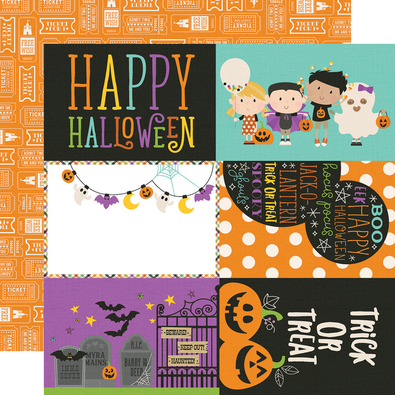 Say Cheese Halloween 4x6 Elements