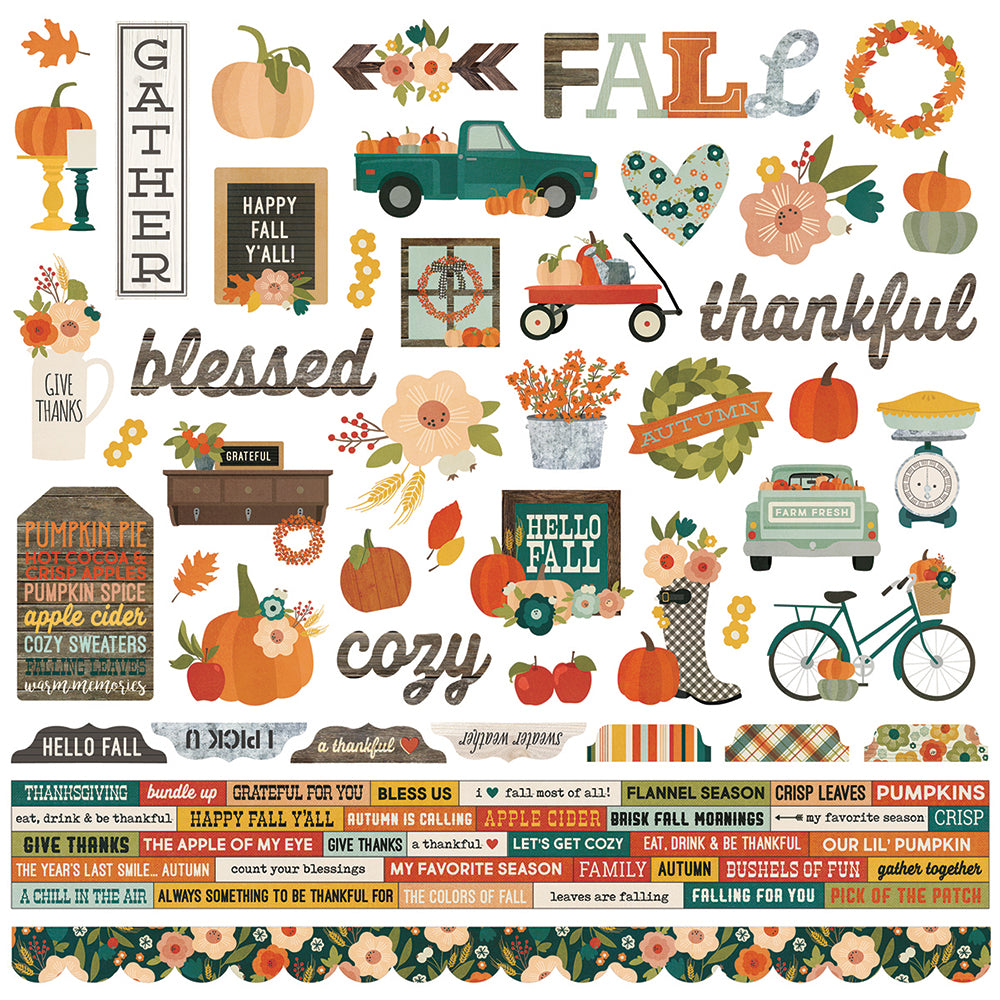 Fall Farmhouse 12x12 Collection Kit