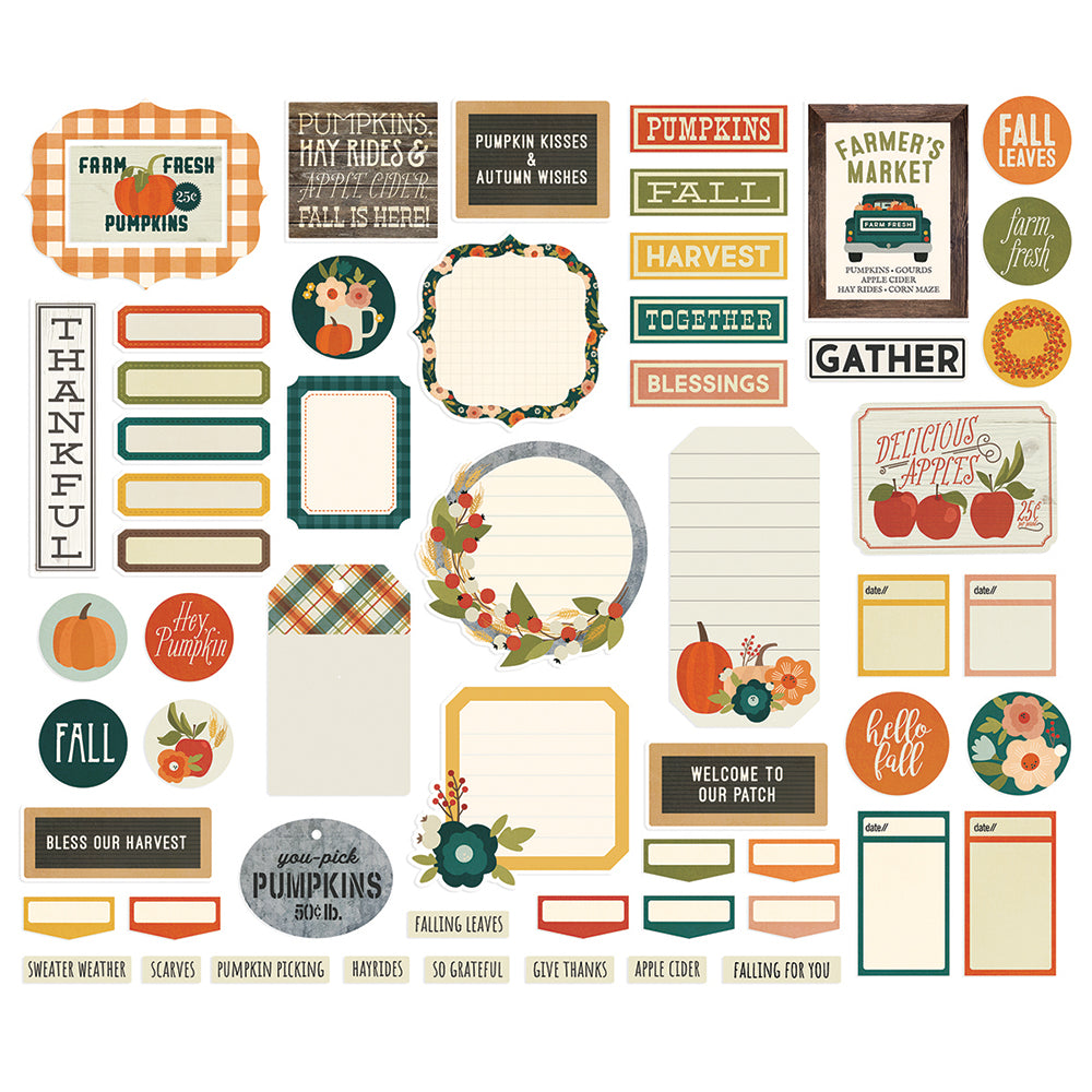 Fall Farmhouse Journal Bits & Pieces